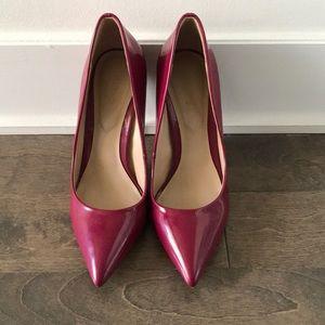 Aldo red patent stilettos